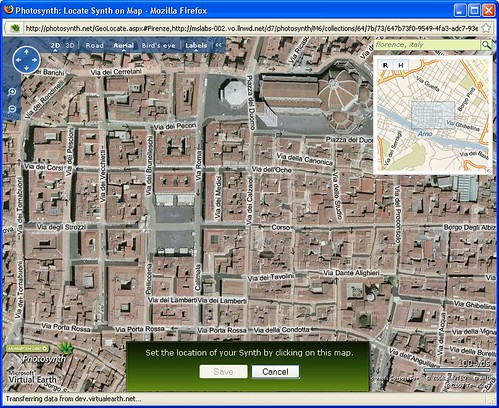 [Photosynth-Firenze-Aerial]