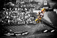 Ricky Carmichael - X Games 13 (ASHCRAFT PHOTO) Tags: action rickycarmichael xgames homedepotcenter motoxfreestyle
