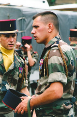On Parade with Major Mike (Charlie Dave) Tags: military bastilleday majormike