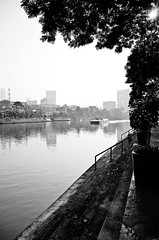 River (d2digital) Tags: streetphotography makati guadalupe allrightsreserved blackwhitephotos 18200mm3556vr pasigferry photokalye