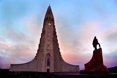 Hallgrim's Church - Reykjavik - Iceland (tigric (Ana Stefanovi)) Tags: autumn church iceland religion reykjavik september arhitecture hallgrims