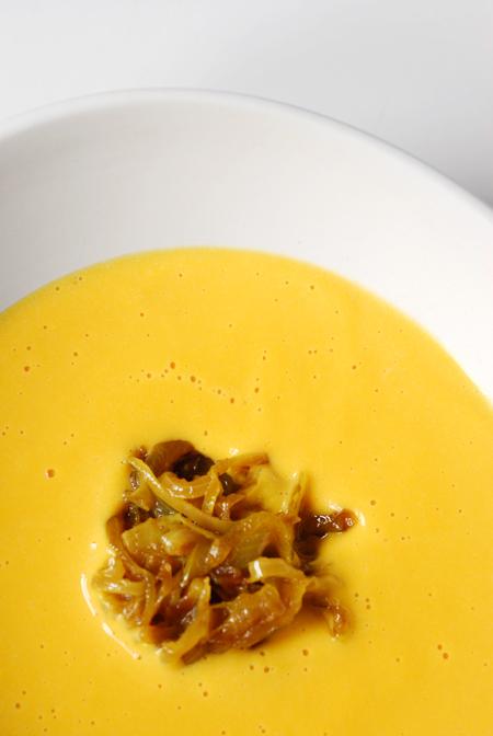Jap Pumpkin Soup with Curried Onion© by Haalo