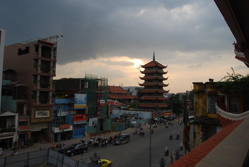 Pagoda de Vinh Nghiem en Saigón
