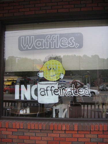 Waffles Incaffeinated