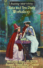 My Workshop: Welsh Witches Hats and Tea