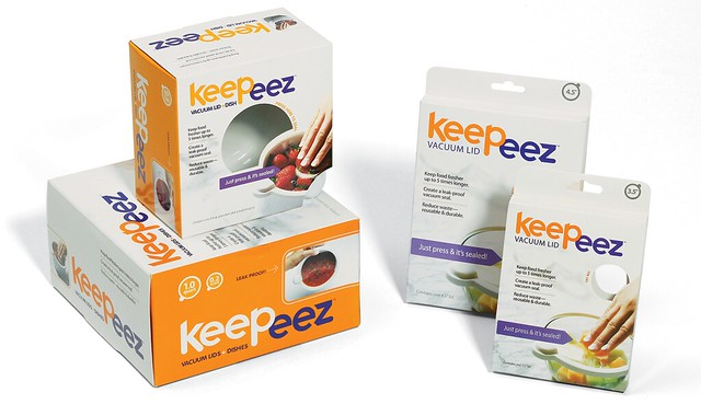 Keepeez Retail Brand and Packaging by tenfour archive