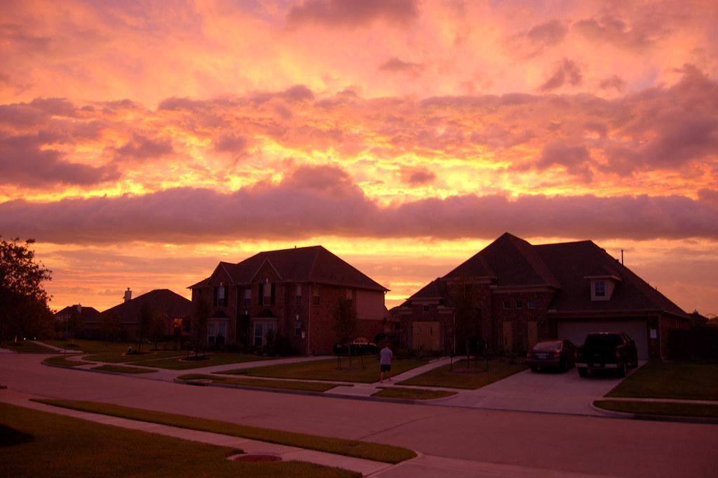 Pink Storm Sky