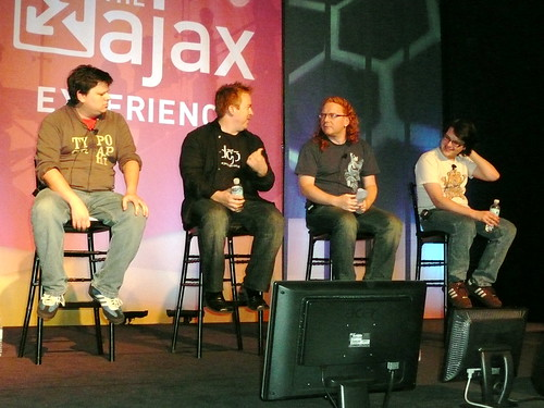 Ajax Experience Panel with People from Prototype, YUI, jQuery, and Dojo