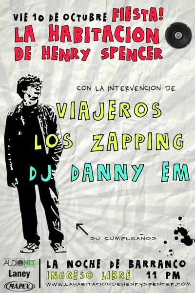 Fiesta Spencer La Noche
