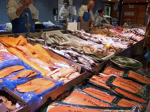 O'Connell's fish stall