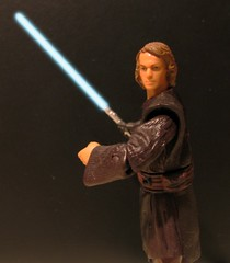 Anakin Skywalker Lightsaber FX Test (slidercleo) Tags: test toys actionfigure starwars lightsaber anakinskywalker order66 lightsaberfx