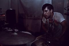Mahjongg (zeninho ) Tags: italy music chicago hot canon concert italia drum live liguria gig livemusic genova drummer mahjongg sudore buridda disorderdrama zeninho lastfm:event=760844
