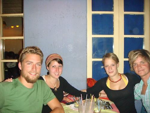 Christian (DK), German Nicole & Marina, and I in Cochabamba, Bolivia.