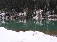 Reflections on Lewis Lake