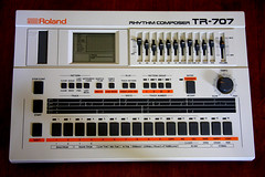 Roland TR-707 (Matrixsynth) Tags: drum synth tr707 matrixsynth roalnd
