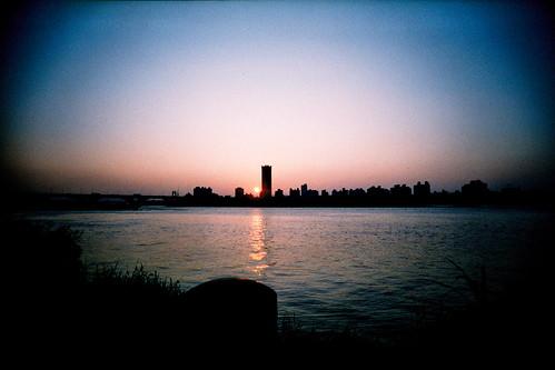 [大稻埕碼頭] 夕陽西下