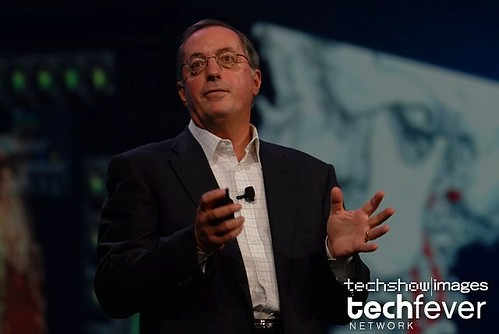 Opening day at OracleOpenWorld 2008,  Intel CEO Paul Otellini keynote by TechShowNetwork.