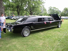 Mustang Limousine (pcsmoroute66) Tags: ford pcs vinyl limo cadillac mustang limousine hearse staycentral pcsstaycentral