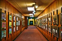 Entrance to History (DP Photography) Tags: perspective corridor hallway americanmuseumofnaturalhistory photoexhibition debashispradhan dpphotography dp photography