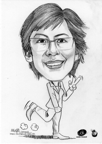 Caricature Web in Travel 2008 Chong Pihit Lian