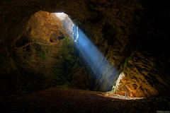 Cave Beam (Burrard-Lucas Wildlife Photography) Tags: light sunlight beam morocco cave cavern cccp