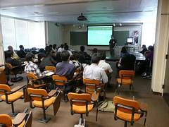 第4回鹿児島大学シリコンバレー研修ツアー  SLACでのレクチャー