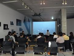 "Nakanoshima Communication Cafe ""the Climate Change and City Planning"""