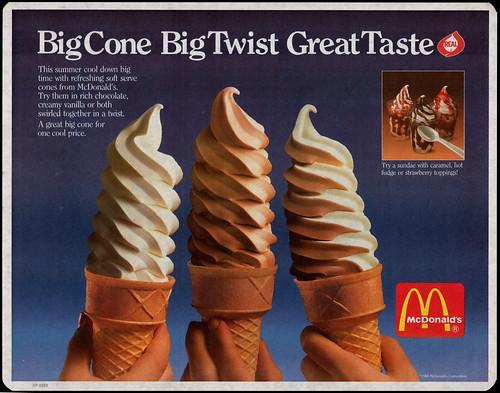 Mcdonalds Twist Cone