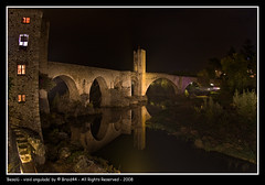 Besal - visi angulada ( Pere Soler) Tags: bridge night canon puente interestingness nightscape medieval girona tokina explore panoramica nocturna pont frontpage garrotxa besalu 1017mm 40d abigfave anawesomeshot impressedbeauty infinestyle paisatje braid44 ryc4x2 kddfageda2008
