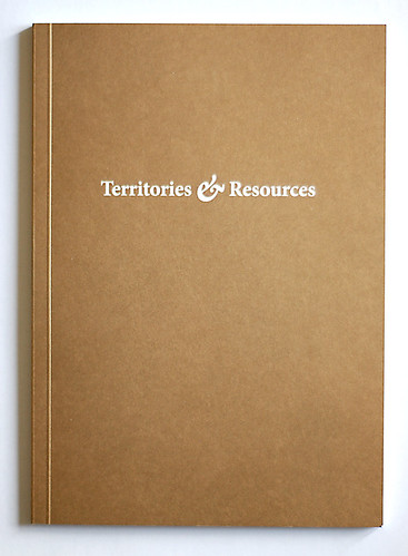 Territories & Resources 2008 Catalogue