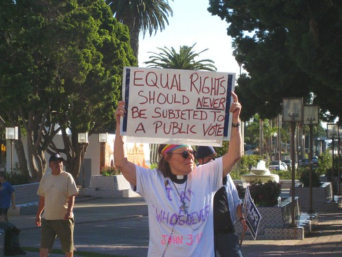 equal rights should NEVER be subjected to a public vote