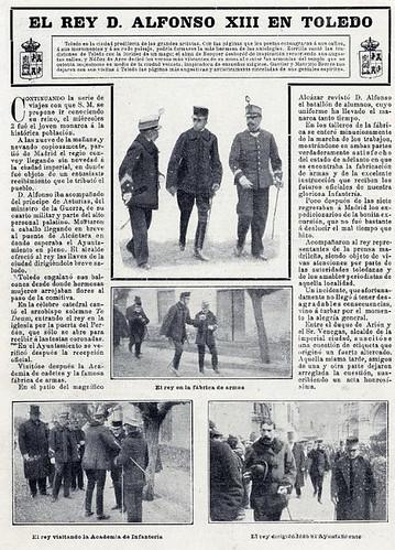 Crónica de la visita de Alfonso XIII a Toledo el 2 de marzo de 1904