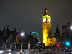 Foto noturna: Londres