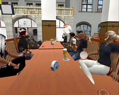 Erster Stammtisch im neuen Hofbräuhaus