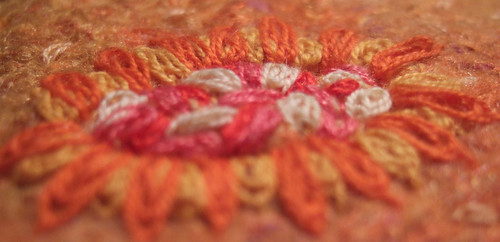 TAST week 15 Oyster stitch
