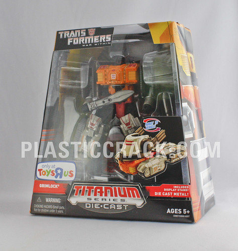"6"" Titanium War Within Grimlock (TRU Exclusive)"