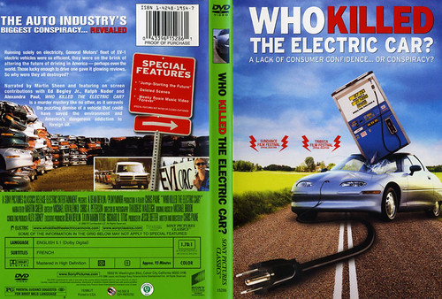 Who Killed the Electric Car DVD movie
