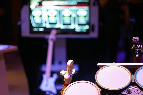 Rockband, guitar, drums