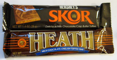 Skor vs Heath Bar - Which Chocolate Toffee is Better?