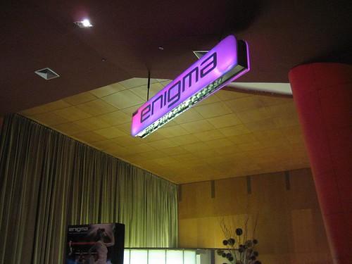Enigma - World's First Cinema Club