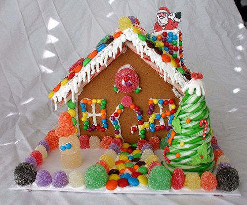 Gingerbread House -- Front