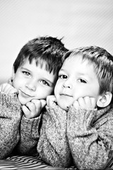 Tyler & Aiden (*teggie*) Tags: christmas love boys holidays brothers handsome bond preschool impressedbeauty