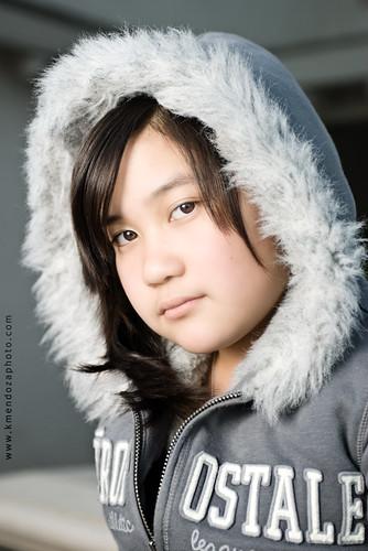portrait photography miss t