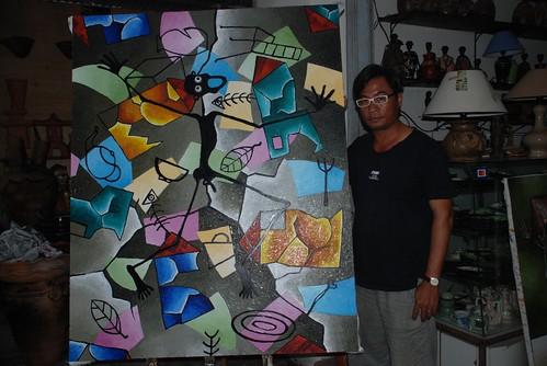Mr Minh, Artist in Nha Trang