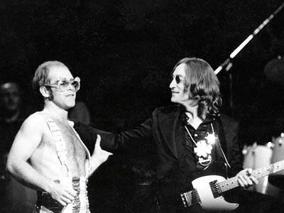 John Lennon, Elton John, Madison Square Garden, Thanksgiving 1974