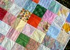 girly quilt close-up