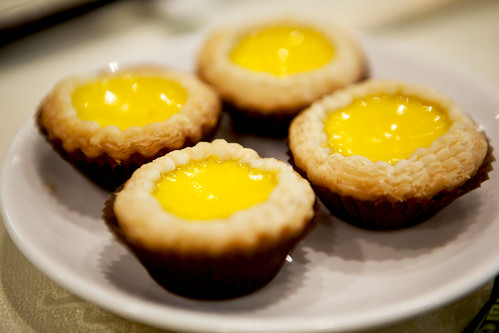 Mini egg custard tarts