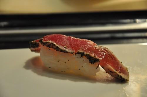 你拍攝的 鄉村鮪魚壽司。