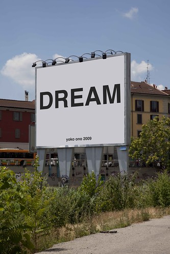 Yoko Ono: DREAM (2009) by you.
