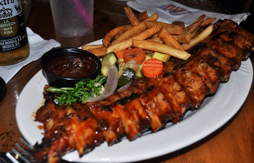 Delish Ribs Served Up at Rum Bay Restaurant, Palm Island Resort, Fla.